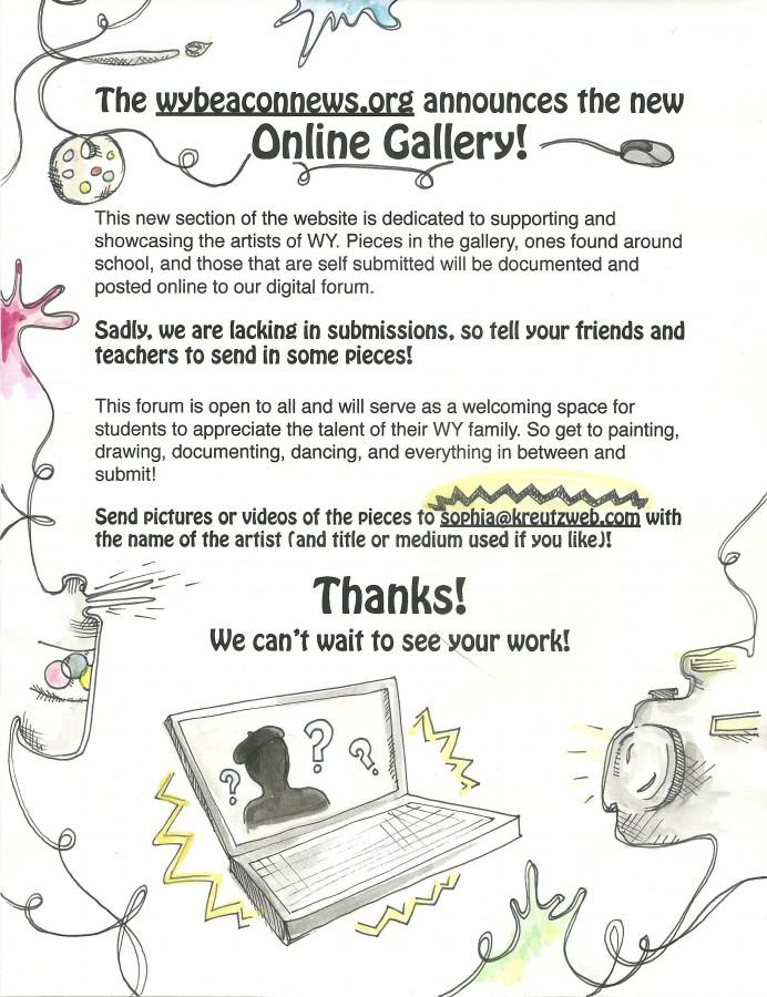Announcing the Online Art Gallery