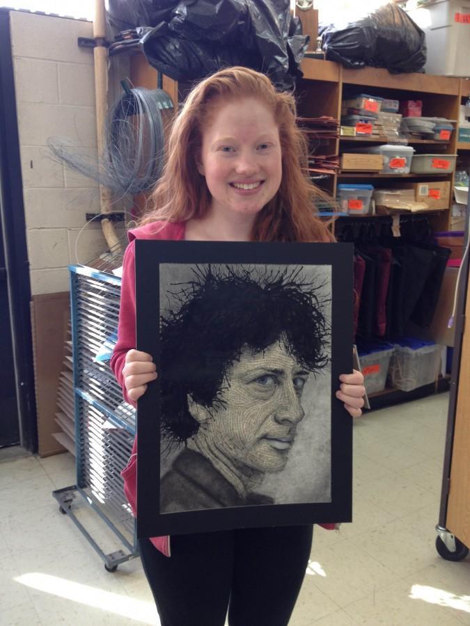 Bailey Whitney '15 pursues art