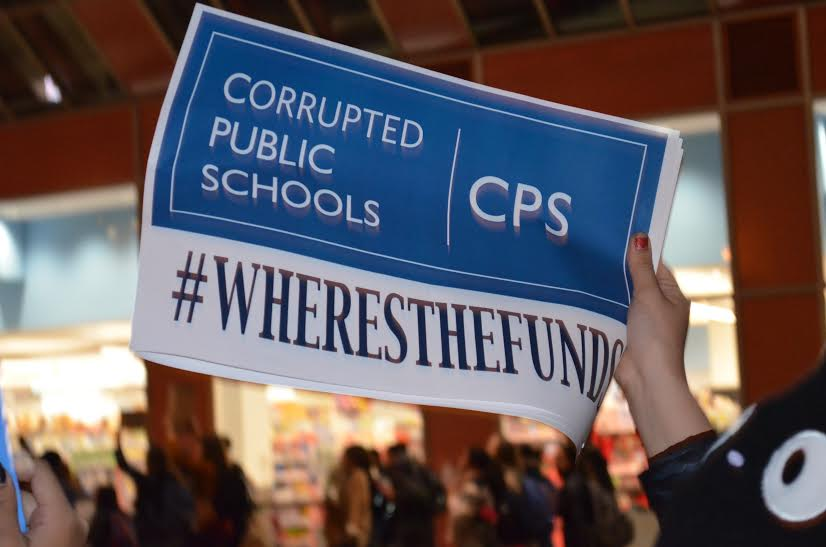 CPS students  take action in wake of budget crisis