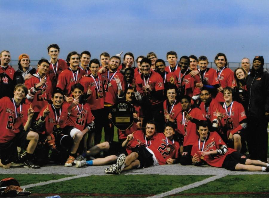 Pressure to perform builds for Boys Lacrosse team