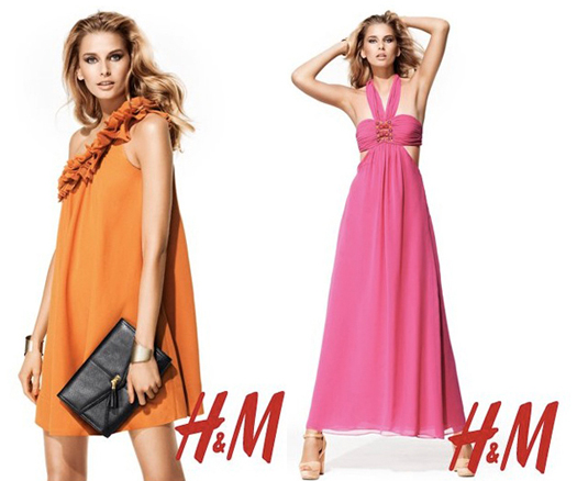 Dresses courtesy of hm.com