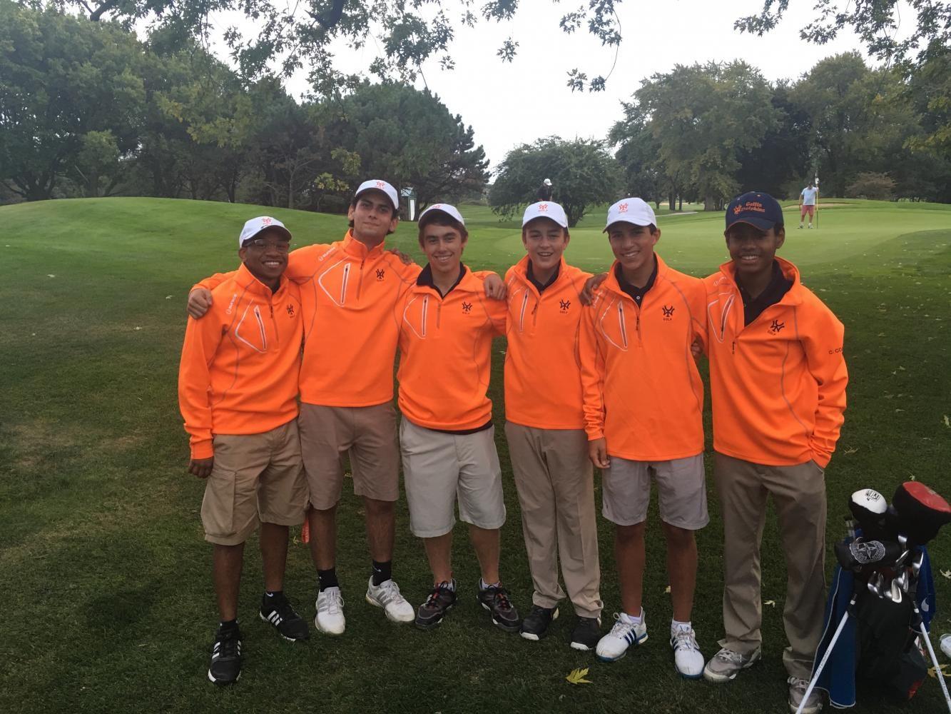 Boy's Varsity Golf season premiere