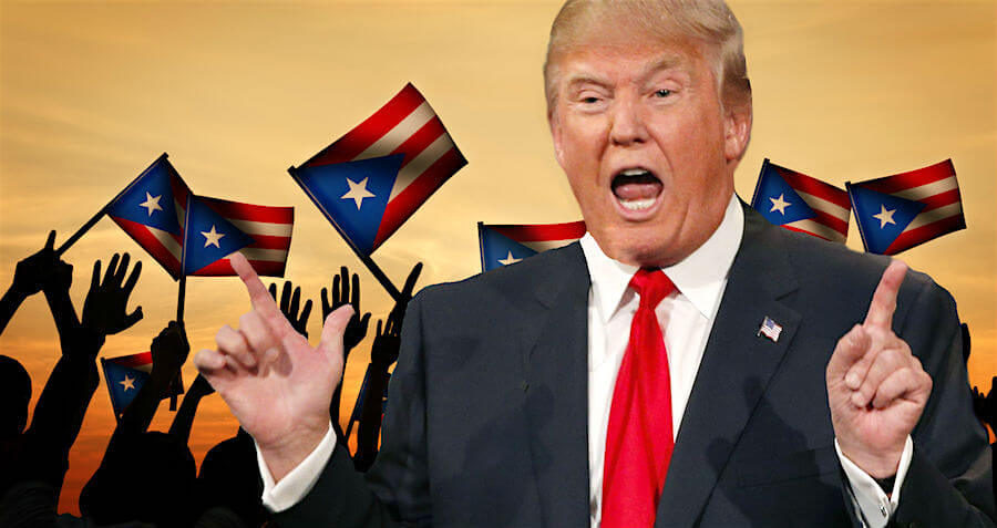 Trump criticizes Puerto Ricos mayor