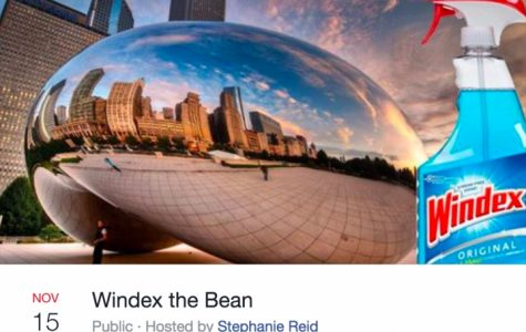 Whitney Young Students Excited to Windex the Bean