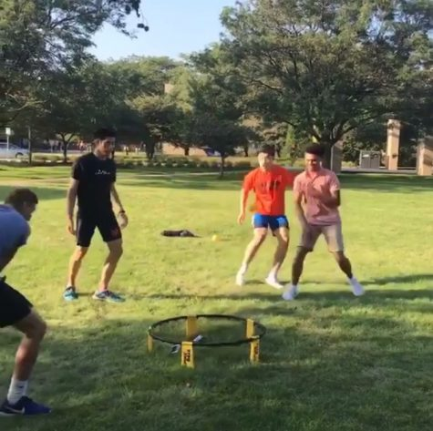 Spikeball? The new thing?