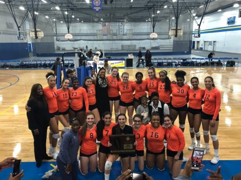 Girls Volleyball Make History!