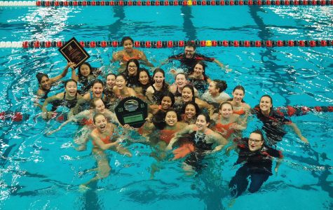Girls Swim Team Wins City