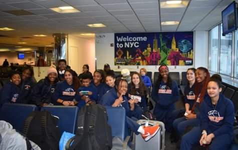 Whitney Young Girls Basketball Take a Trip to New York