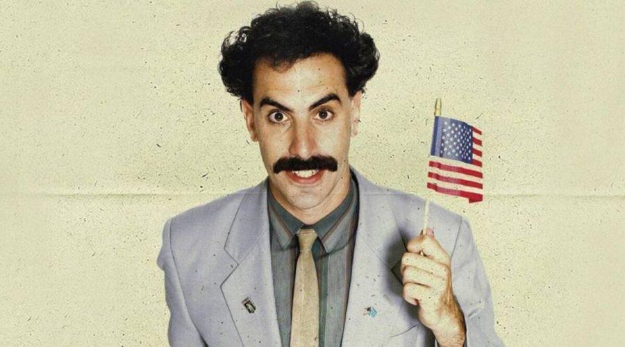 Borat is at it again