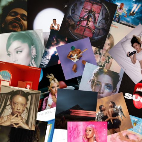 A compilation of some albums dropped in 2020.